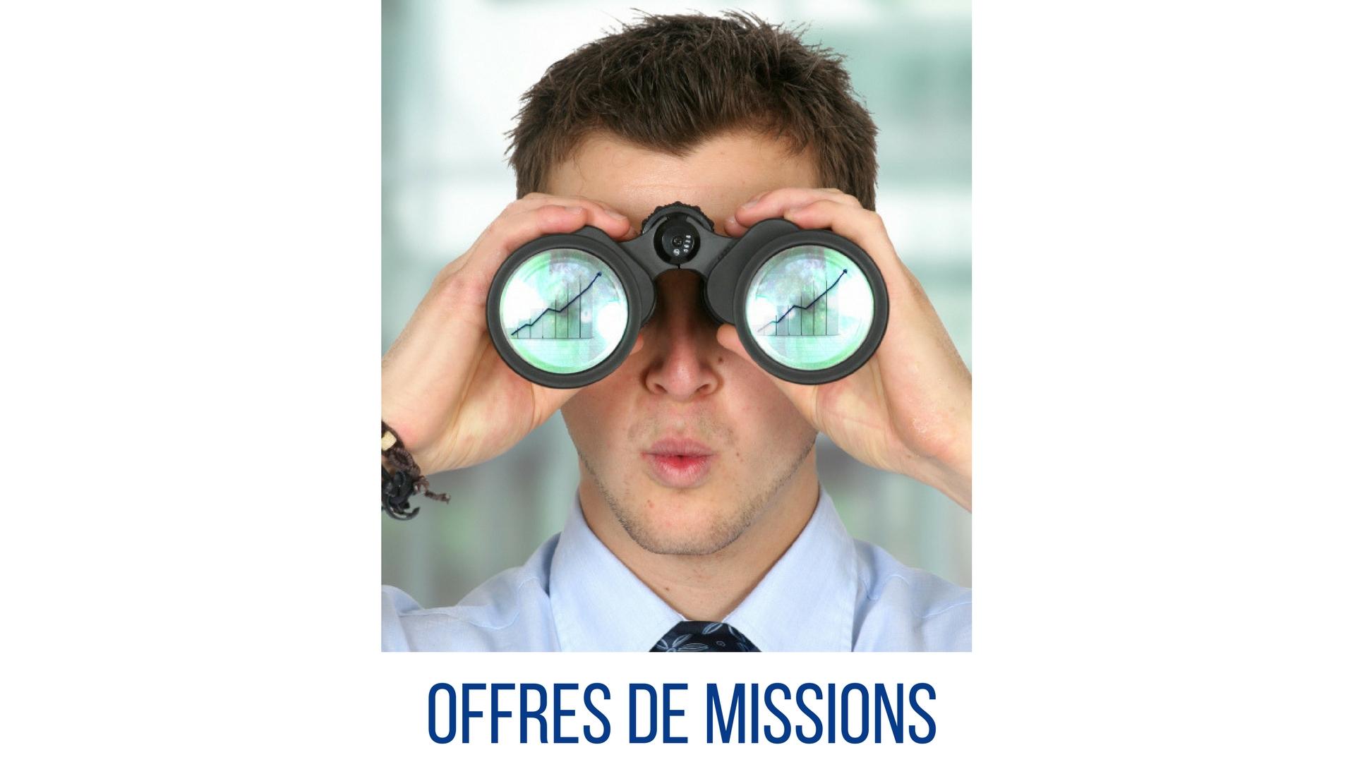 Offres de missions